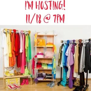 JOIN ME AS I CO-HOST A STYLE PARTY 11/18 7PM